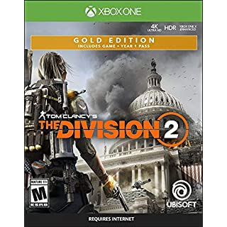 Tom Clancy's The Division 2 - Xbox One Gold Steelbook Edition