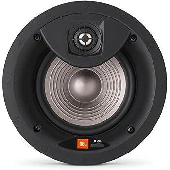 JBL Surround Premium In-Ceiling Home Speaker, Set of 1, White (STUDIO 2 8IC)