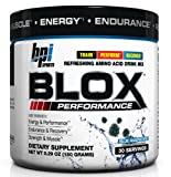 BPI Sports Blox Performance Refreshing Amino Acid Drink Mix, Blue Raspberry, 5.29-Ounce