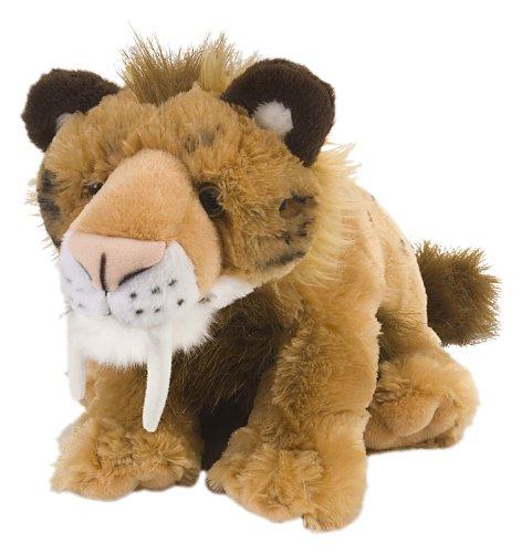 (Wild Republic Smilodon Plush, Stuffed Animal, Plush Toy, Gifts for Kids, Cuddlekins 12)