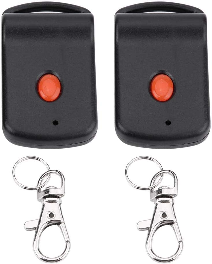 2 piezas Mini transmisor de garaje a distancia para puerta de garaje para 3060 300 mhz 3089 4120 Lineal Mando a distancia de apertura de puerta de garaje