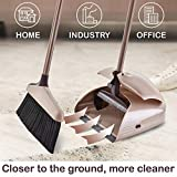 Broom and Dustpan Set - Large Upright Dust pan