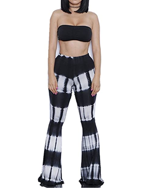 Amazon.com: mostashow Tie-Dye impreso vendaje hembra ...