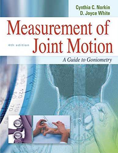 Measurement of Joint Motion : A Guide to Goniometry, 4th ()