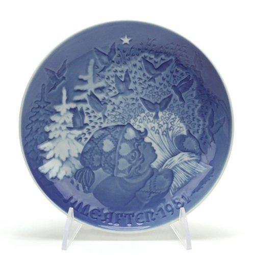 Bing & Grondahl Christmas Plate by, Porcelain Decorators Plate