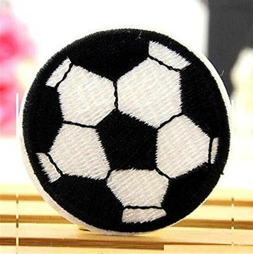 Monbedos - Parche bordado con diseño de fútbol de fantasía para ...