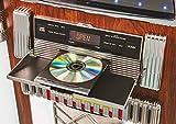 Crosley CR1215A-WA Jukebox, Includes AM/FM Radio