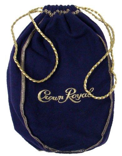 Crown Royal Green Bag Regal Apple with Golden Drawstring