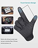FengNiao Winter Gloves Men Women Touchscreen Windproof Warm Non-Slip Driving Gloves Outdoor Thermal Cycling Skiing Hiking Camping Gloves