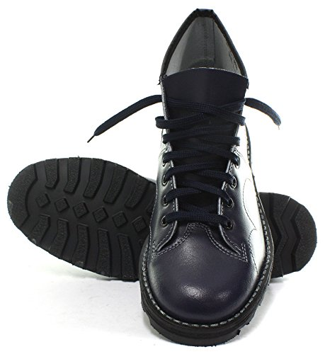 Monkey Blu Roamer Boys Navy Boots Men's Original Leather RUUqPOCw