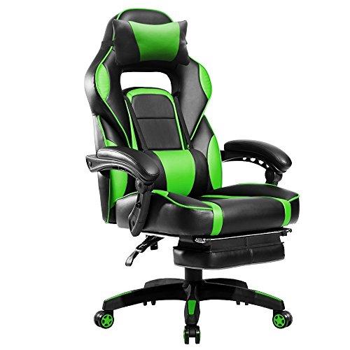 Gaming Chair Big and Tall,JULYFOX Reclining Executive ...