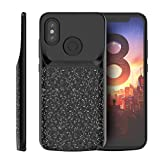 Promama Xiaomi Mi 8 Battery Case, Durable External Protective Battery ccover Compatible with Xiaomi Mi 8 Juice Case [Durable ] - Black