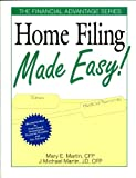 Home Filing Made Easy, J. Michael Martin and Mary E. Martin, 0793106109