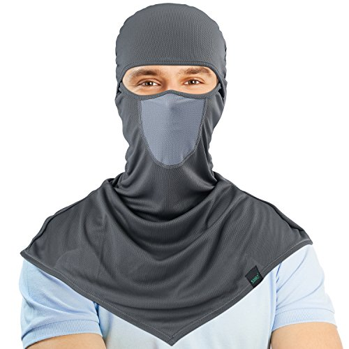 SUNMECI Balaclava - Windproof and Dust Protection Outdoor Cycling Motorcycle Balaclava Hood Breathable Full Face Mask for Men and Women