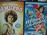 Blades of Glory , Semi-pro : Will Ferrell Sports Comedy 2 Pack Collection