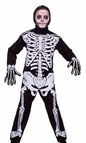 Forum Novelties Skeleton Costume, Child Medium -