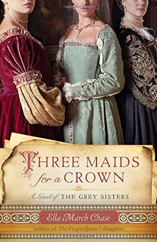 book cover of Three Maids for a Crown