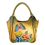 Charmeine Women's Leather Hobo Bag 38 cm x 35.3 cm x 18 cm Multi Color