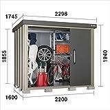 サンキン物置 SK8 SK8-100 一般型 棚板なし 『中型・大型物置 屋外 DIY向け』 ギングロ