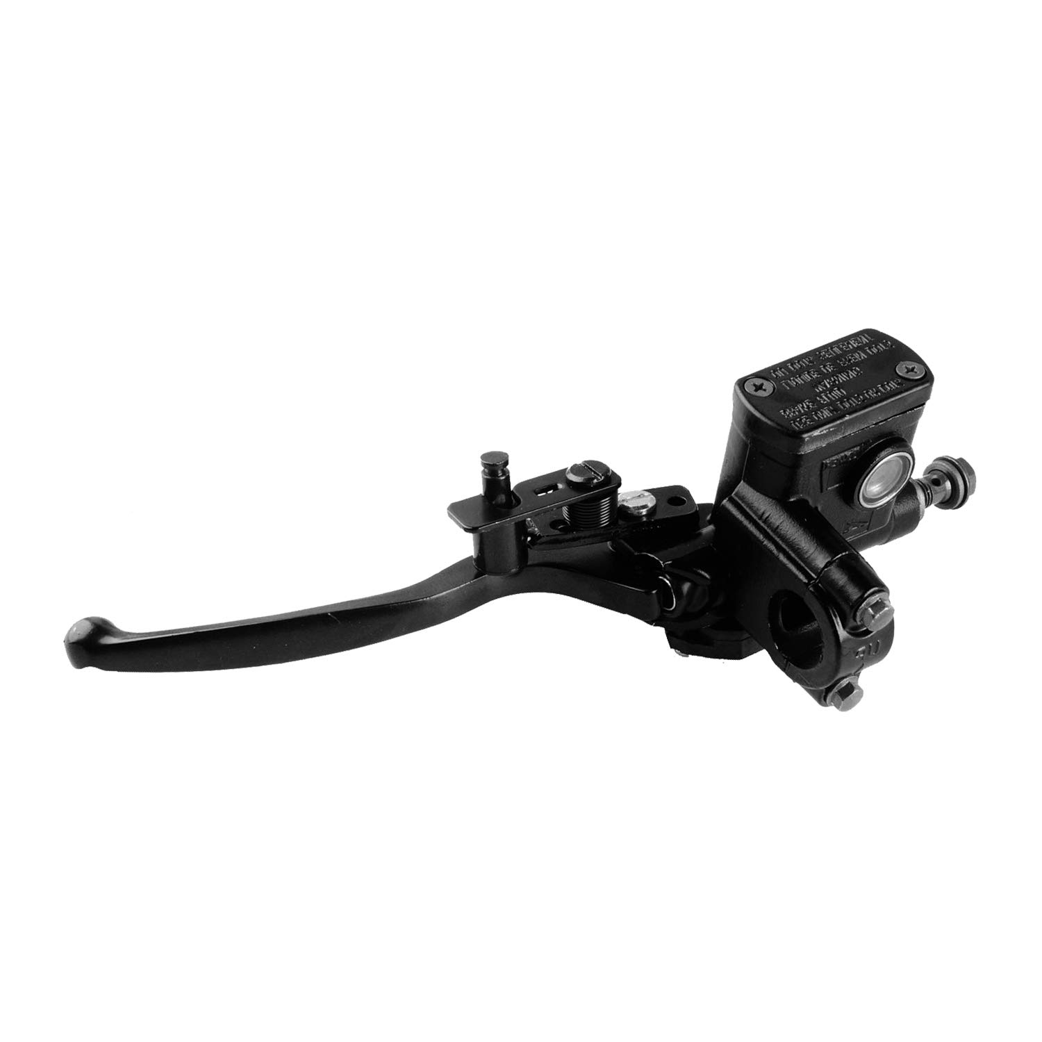 Poweka 50CC Hydraulic Brake Lever Master Cylinder Front Right Side for 110cc 125cc 150cc Atv Quad Dirt Pit Bike with Lever Pump
