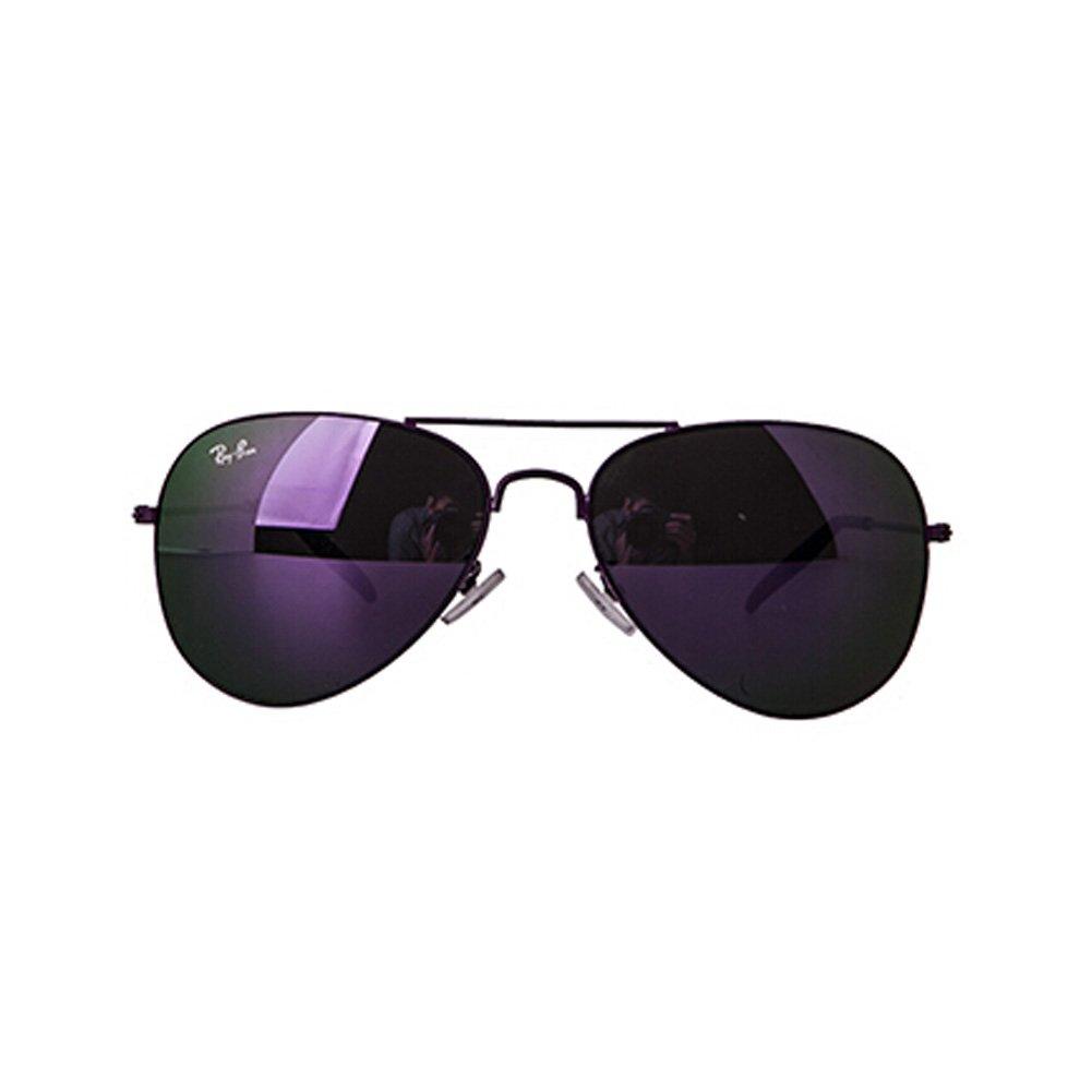 Fashion Unisex Colorful Lens Pretty Sunglasses Purple frame Purple Lens Kylin Express