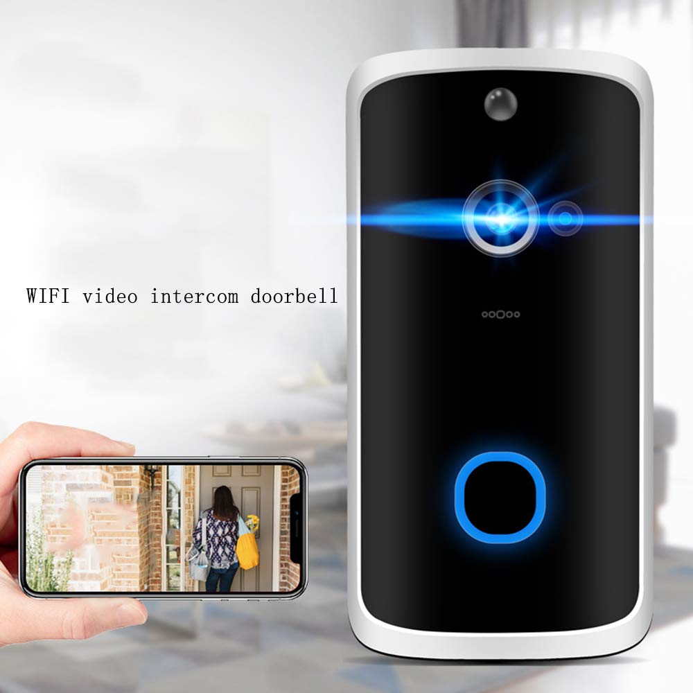 Timbre video wifi inteligente intercomunicación hogar baja ...