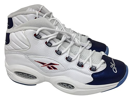 Signed Allen Iverson Ball - Reebok Shoes WP920571 - JSA Certified - Autographed NBA Sneakers ()