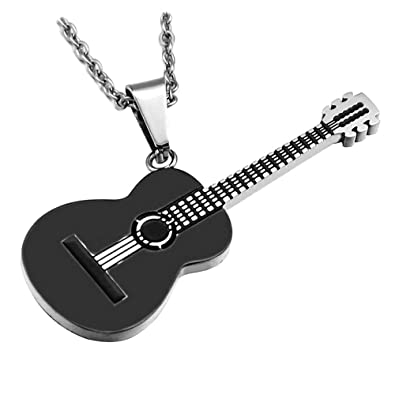 BOBIJOO JEWELRY - Colgante de Guitarra Clásica en Seco Acústico de ...