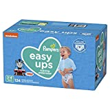 Pampers Easy Ups Training Underwear Boys Size 5 3T-4T 124 Count: more info