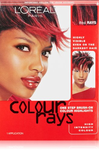 L'Oreal Paris Colour Rays Hair Color, Red - Color Ray