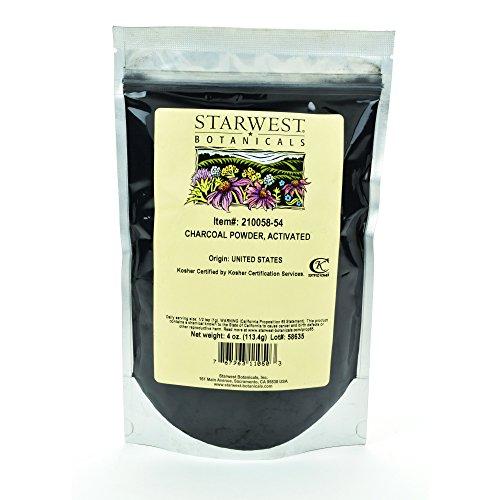 Starwest Botanicals Hardwood Activated Charcoal product image