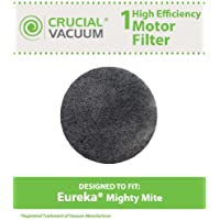 Replacement for Eureka Mighty Mite Motor Foam Filter Fits Mighty Mite & Sanitaire Vacuums, Compatible With Part # 38333, by Think Crucial