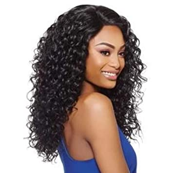 How to blend your natural hair with a curly half wig youtube