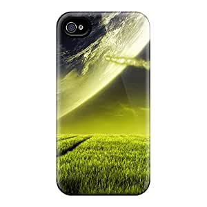 [rAOChpr3293Cjhcp] - New Alien Planet Protective Iphone 4/4s Classic Hardshell Case