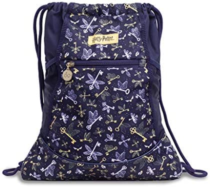 JuJuBe x Harry Potter Grab Go String Backpack Lightweight Bag with Tech Pocket