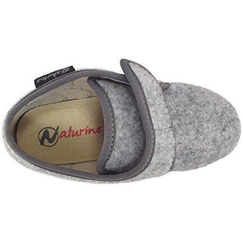 mixte bas 7455 Naturino enfant Chaussons gris grigio q4tWwZU