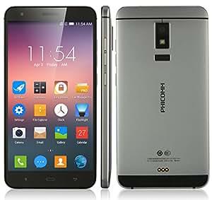 Phicomm EX780L Smartphone - 5.5 Inch 1080p Screen, 3GB RAM , (Reliance Jio 4G Sim Support) Fingerprint ID, 4G, Dual SIM mobile in Grey