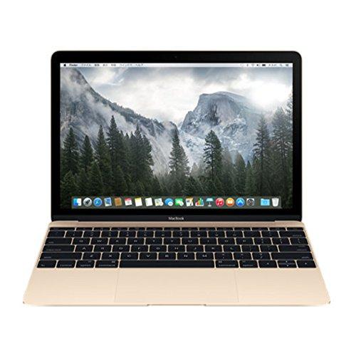 APPLE MacBook (1.1GHzデュアルコア Intel CoreMプロセッサ 12型 8GB 256GB -C ゴールド) MK4M2J A