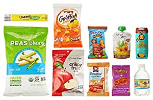 Children's Snacks Sample Box, 10 or more samples ($4.99 credit on select products with purchase)