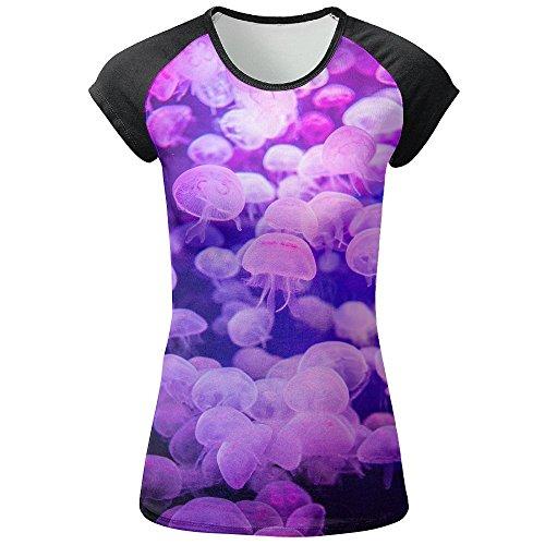 AOBOER Girls Funcy Medusa Novelty Short Sleeves Tees Crew Neck Tshirt by AOBOER