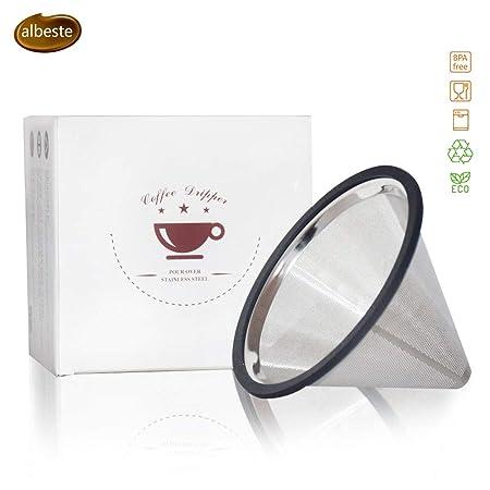 Filtro de café para verter, goteador de café, filtro de café ...