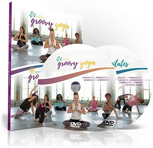 Body Groove Gentle Groovy Yoga and Pilates DVD Collection