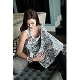Udder Covers Breast Feeding Nursing Cover Grace, Grey