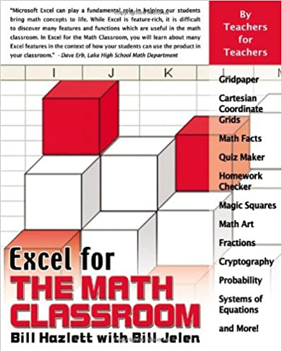 Amazon.com: Excel for the Math Classroom (Excel for Professionals ...