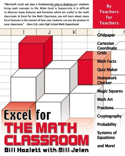 Excel for the Math Classroom (Excel for Professionals...