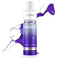 Purple Shampoo for Blonde Hair – Removes Brassiness, Yellow & Overtones – Gentle Toning & Hair Care – Blonde Shampoo…