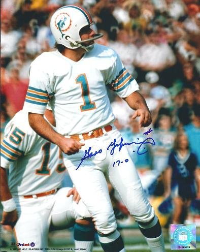 Garo Yepremian Signed - Autographed Miami Dolphins 8x10 inch Photo - Deceased 2015