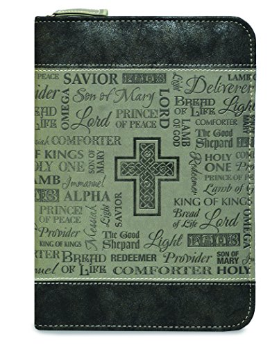 Journal-2018 Divine Details-Zippered-Black and Gray- Names