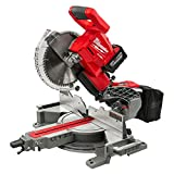 Milwaukee M18 FUEL 18-Volt Lithium-Ion Brushless Cordless 10 in. Dual Bevel Sliding Miter Saw Kit with Free M18 12.0 Ah Battery -  Milwaukee M18 Miter Saw