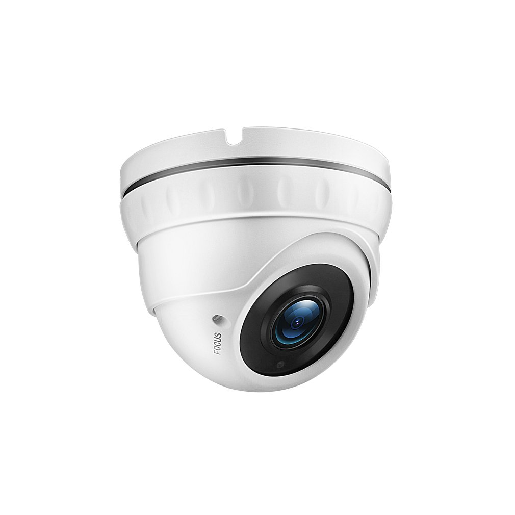TMEZON 2.0MP HD-TVI Outdoor HD Dome Camera 2.8-12mm Zoom Lens 1080P Sony Sensor 36IR 99ft Night Vision ONLY Work with HD-TVI DVR by TMEZON (Image #2)